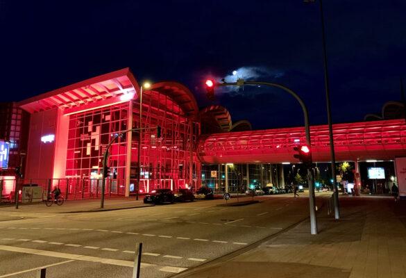 Hamburg Messe Skywalk