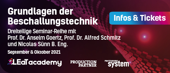 Banner Beschallungs-Seminar
